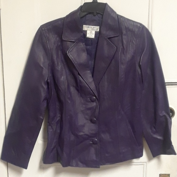 768b7dc0b Tower Hill Collection Leather Jacket